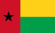 GUINEA BISSAU - HAND WAVING FLAG (MEDIUM)